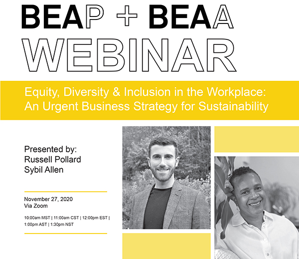 Equality Diversity & Inclusion in the Workplace: An Urgent Business Strategy for Sustainability