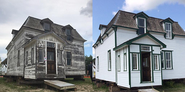 Architecture Matters. Nellie McClung Heritage Site in Manitou, MB | https://www.facebook.com/visitnellieshomes