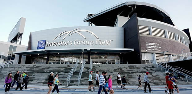 Every building has an Architect. Investors Group Field | Architect: Raymond SC Wan.