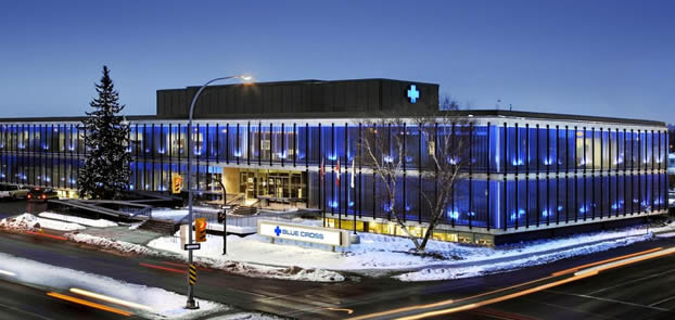 Every building has an Architect. Manitoba Blue Cross Corporate Office Relocation and Renovation | Architect: Stantec.