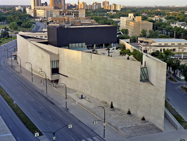Every building has an Architect. Winnipeg Art Gallery| Architect: Gustavo Da Roza, and Number Ten Architectural Group.